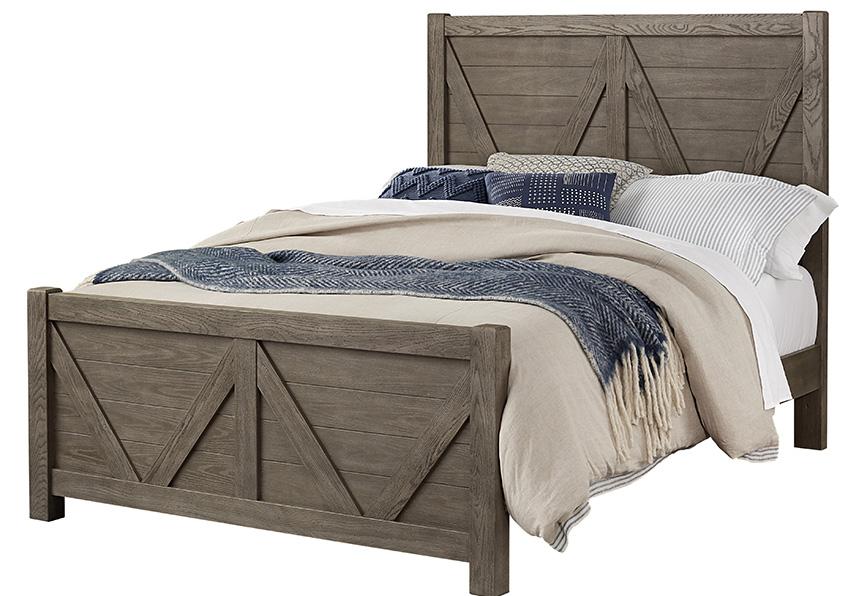 V Panel Bed