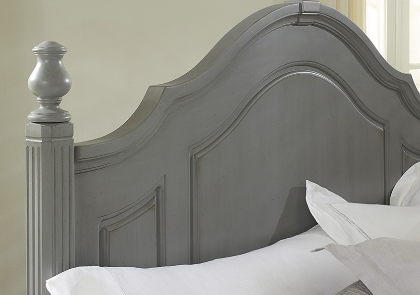 Poster Bed with Footboard Storage Queen & King
