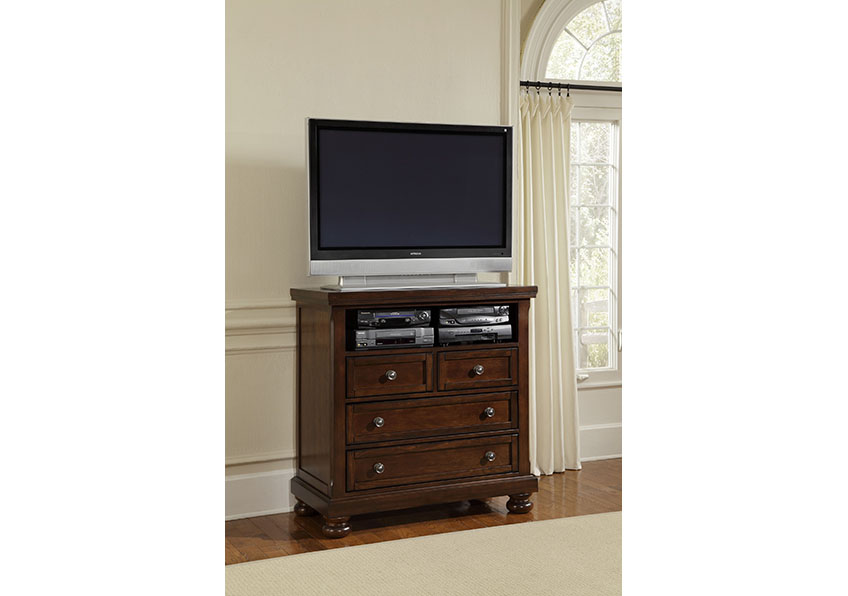 4-Drawer Media Center