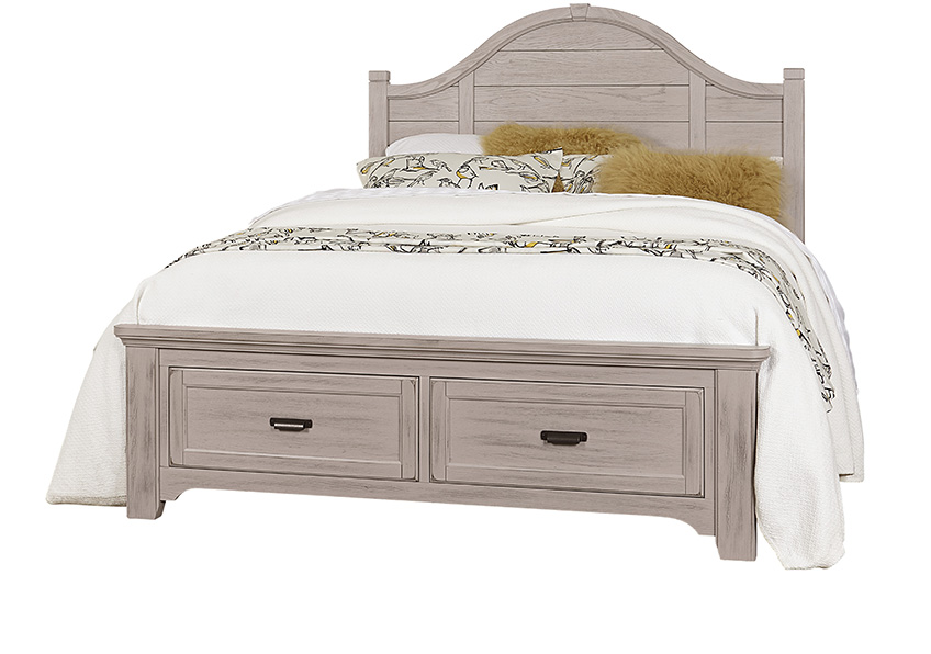 Arch Storage Bed in Queen & King
