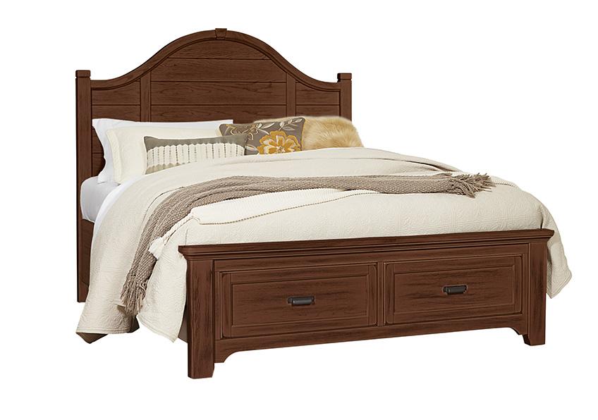 Arch Storage Bed Queen & King