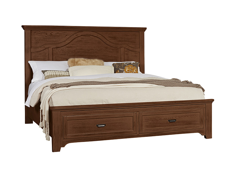 Mantel Storage Bed Queen & King