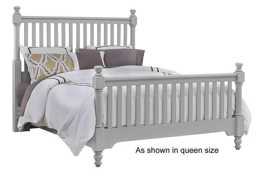 Slat Poster Bed Queen & King