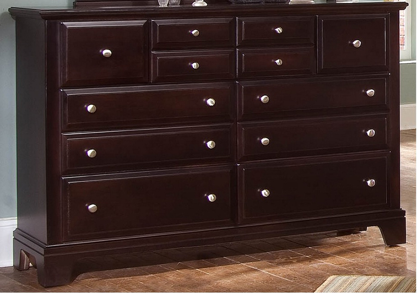 7-Drawer Triple Dresser