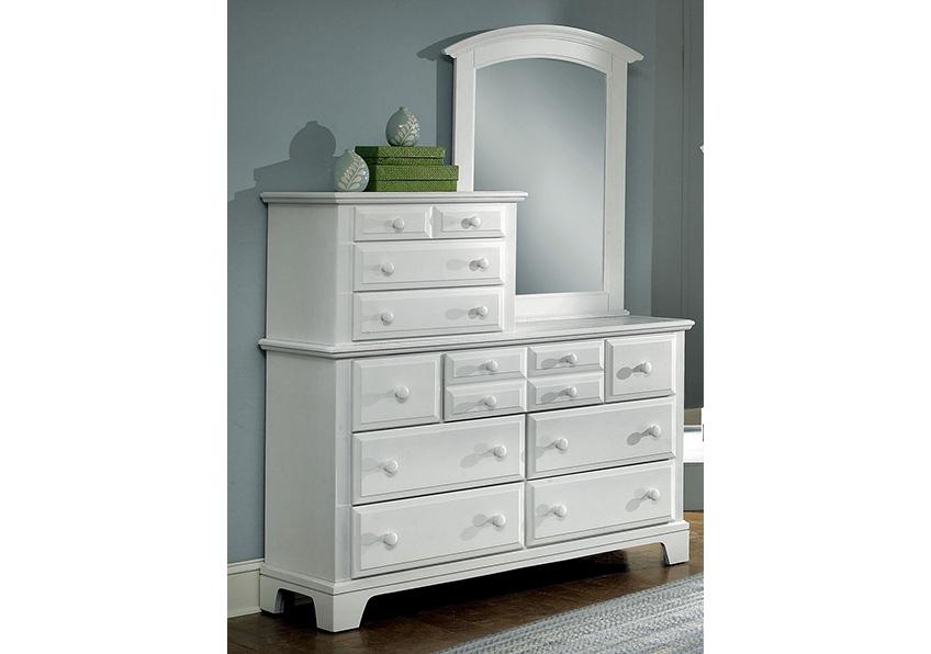 10-Drawer Vanity Dresser